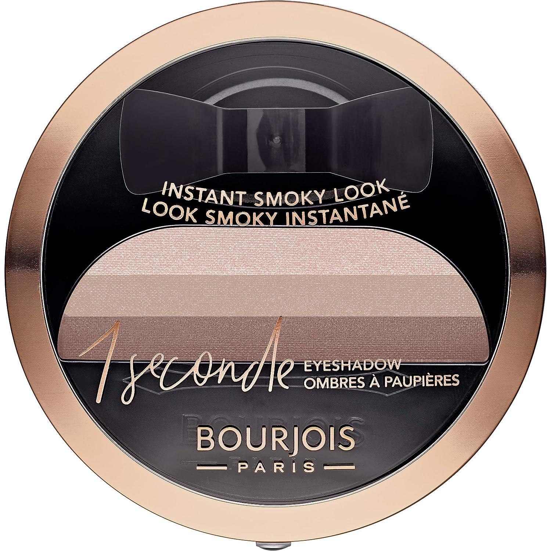 Bourjois 1 Seconde Eyeshadow Sombra de ojos efecto smokey, Tono: 05 Half Nude, 3 gr