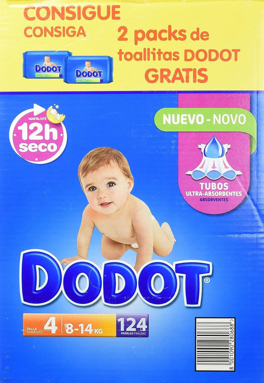 Dodot Pack de Pañales Dodot unidades  Packs de Toallitas  kg