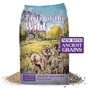 Taste of the Wild High Protein Real Meat Recipe Dry Dog Food with Real Roasted Lamb
