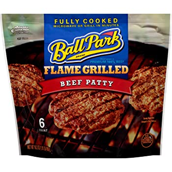 Ball Park Flame Grilled Beef Patty Frozen Burger