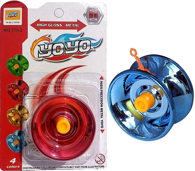Light Wheel Spinner style Yo-yo die cast alloy rims spins like real wheel yoyo