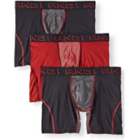 AND1 Men's ProPlatinum Performance Boxer Briefs with Contour Pouch, 3-Pack