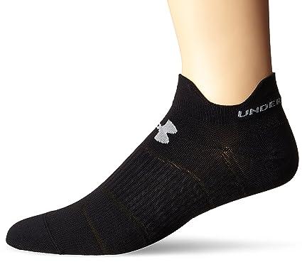 64f55a352 Amazon.com: Under Armour Run Double Tab No Show Socks: Sports & Outdoors