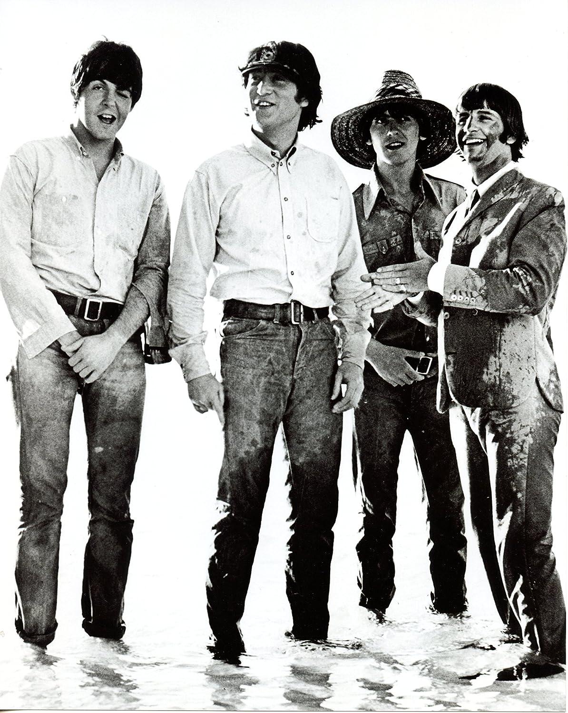 Beatles John Lennon Paul Mccartney George Harrison Ringo Starr 8x10 Photo S3356 At Amazon S Entertainment Collectibles Store