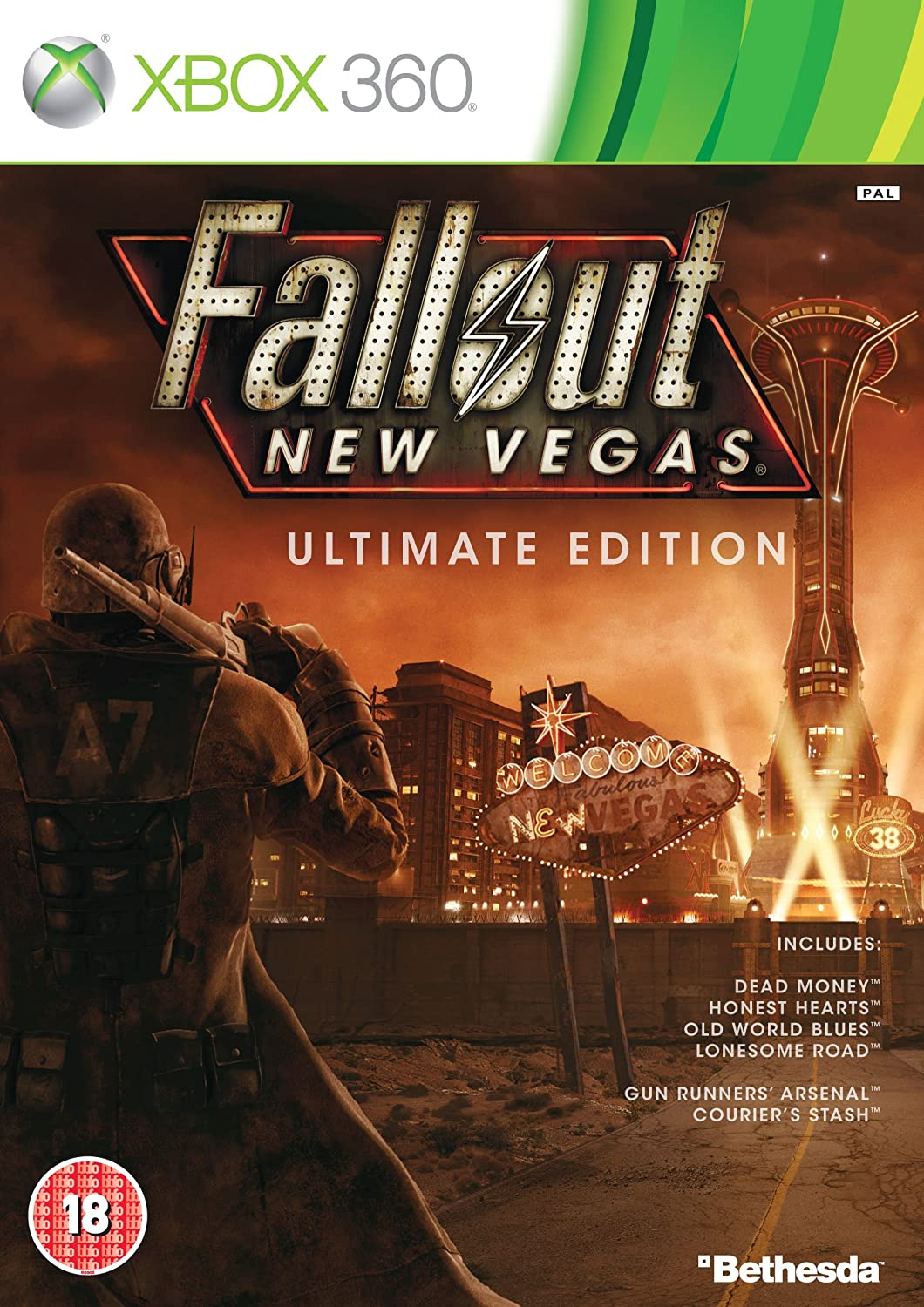 Fallout: New Vegas - Ultimate Edition [Importación inglesa]: Amazon.es: Videojuegos