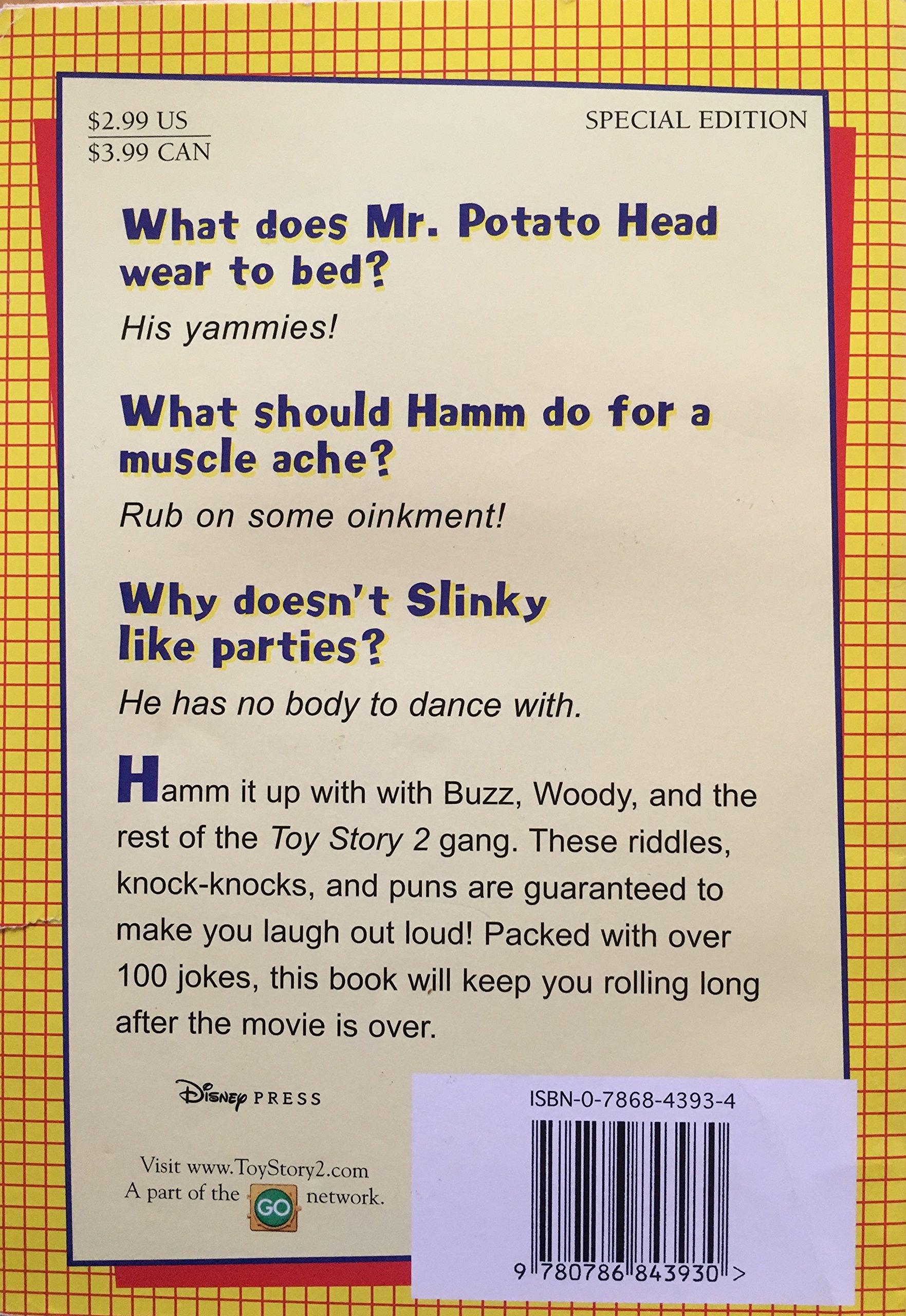 Toy Story 2: Joke: Book (School Book Club Editn): Rebecca