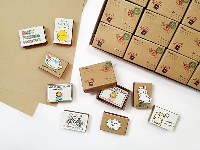 Amazon Matchbox Card Assorted All Occasion 3xu Box Set 12