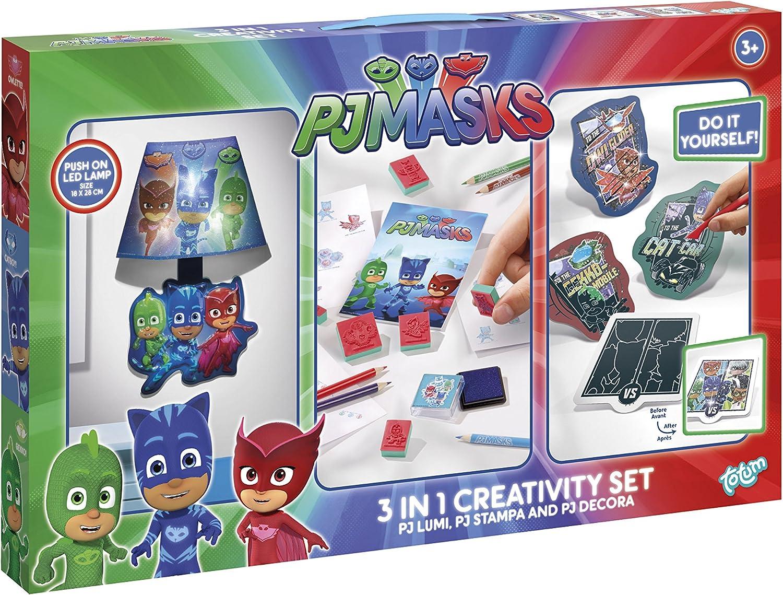 Unbekannt TM Essentials 321014 PJ Máscaras 3 en 1 Creativity ...