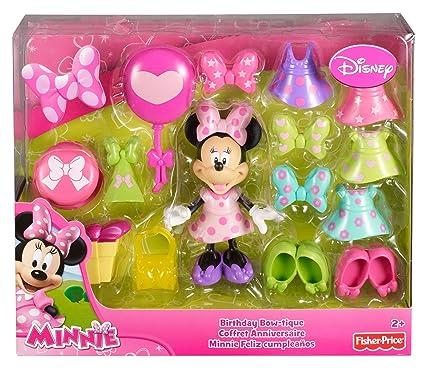 Fisher-Price Disney Minnie, Mouse Birthday Bowtique
