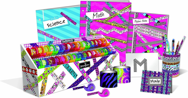 Amazon Com Fashion Angels Tapeffiti Desk Set With X Wide Tapeffiti Toys Games