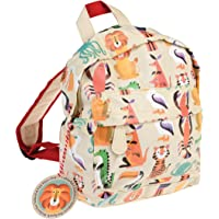 Rex London Colourful Creature Mini Backpack - Animal Lover Bags - Padded Kids Bag with Adjustable Straps for Comfort…