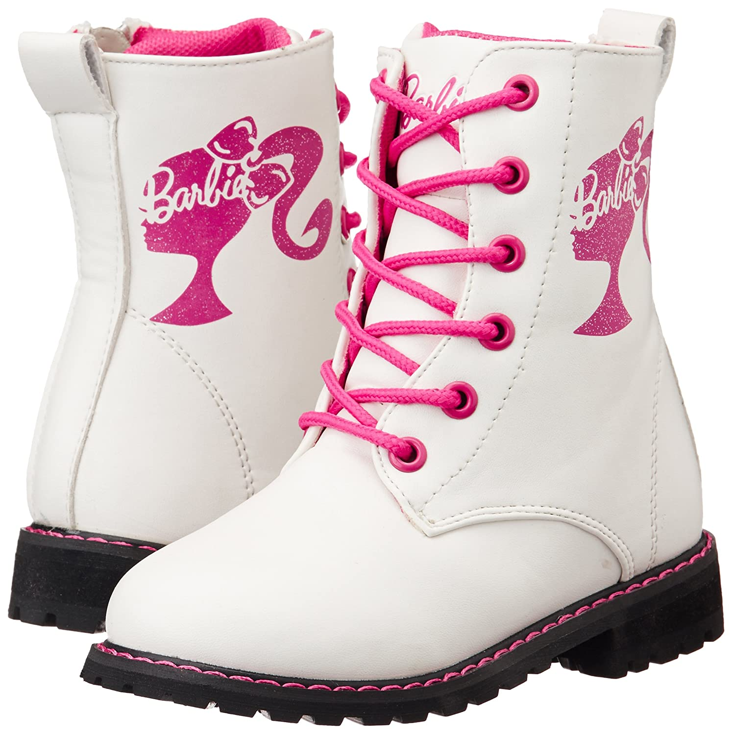 Onwijs Barbie Girl's White Boots - 12C UK: Buy Online at Low Prices in LV-88