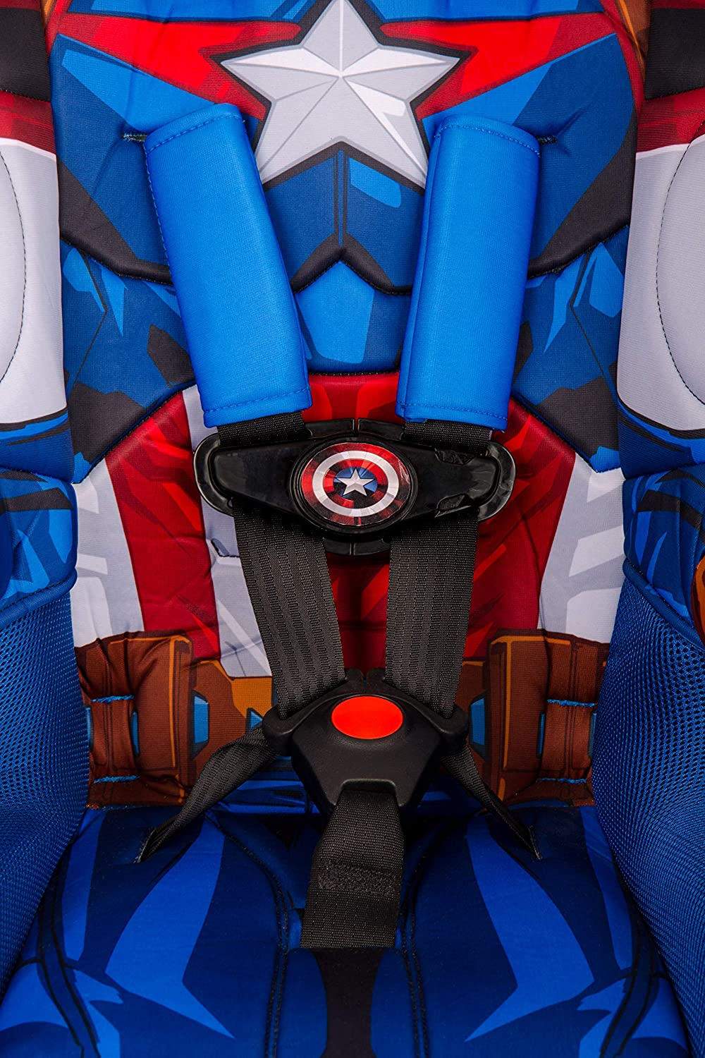 KidsEmbrace 2-in-1 Harness Booster Car Seat Marvel Black Panther