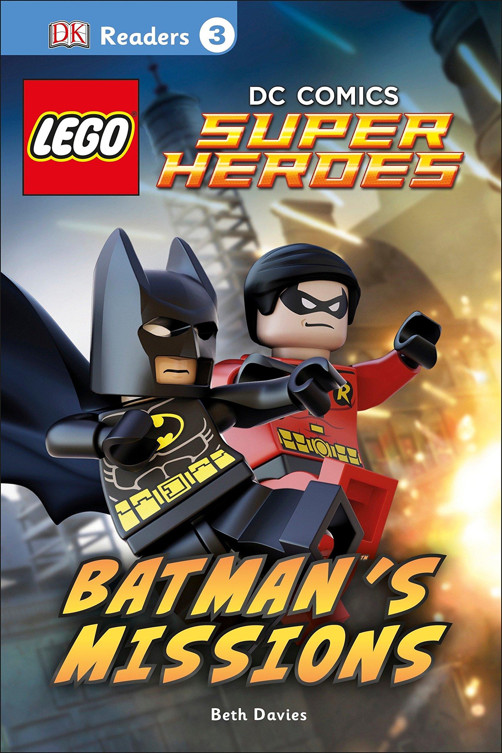 DK Readers L3: LEGO DC Comics Super Heroes: Batman's Missions by DK Children