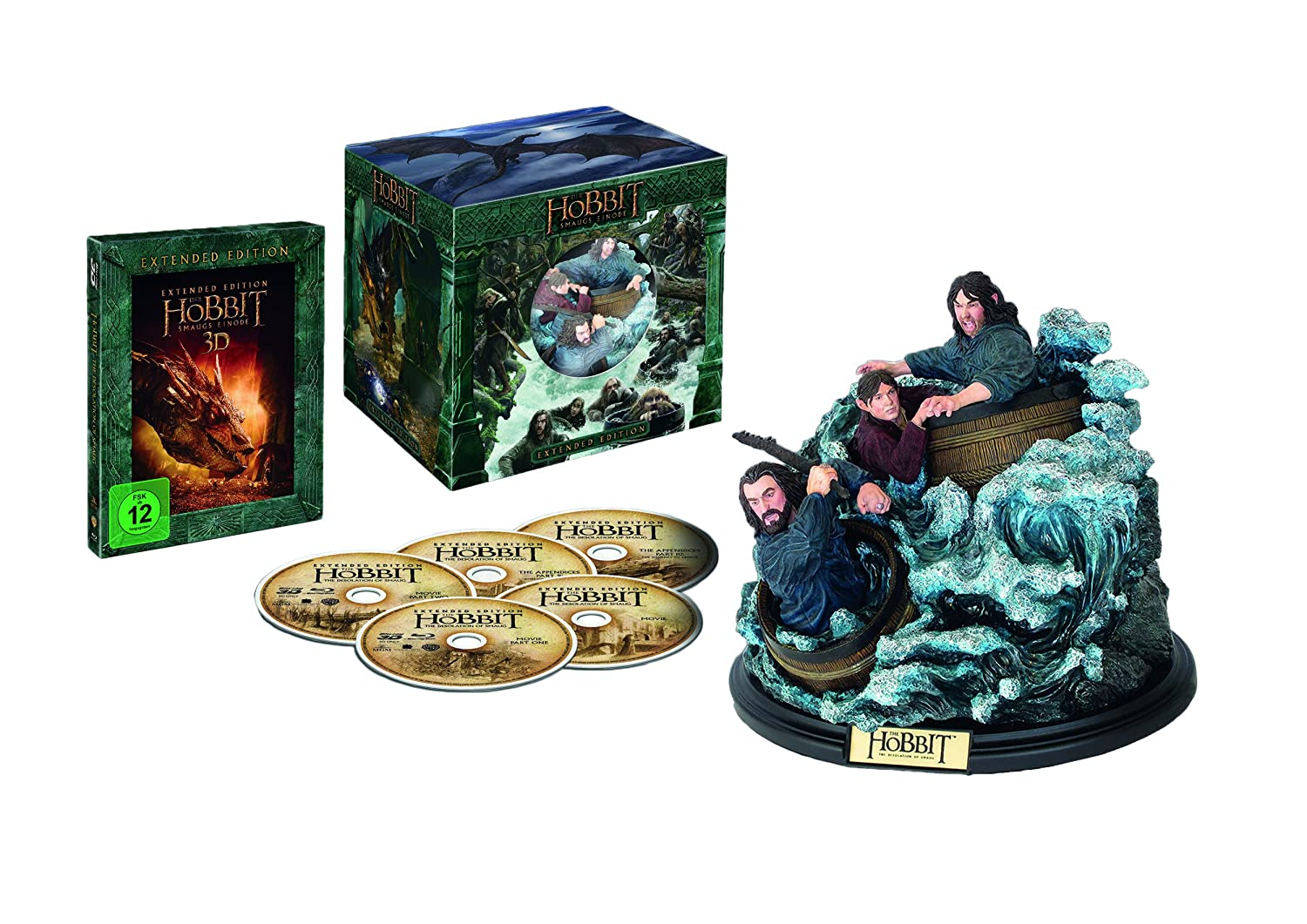 Der Hobbit 2 - Smaugs Einöde - Extended Edition Blu-ray: Amazon.es ...