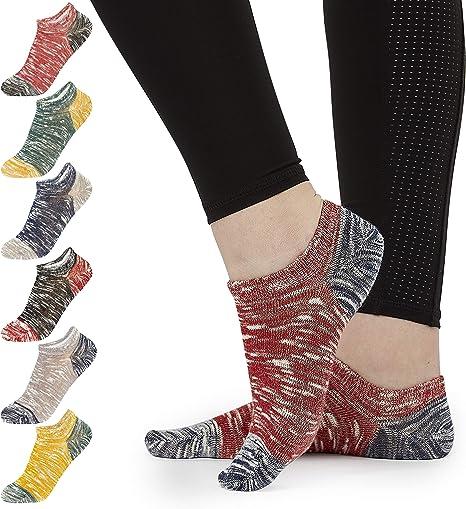 CityComfort Calcetines Mujer, Pack de 7 Calcetines Tobilleros ...