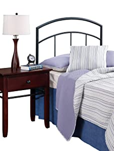 Hillsdale Furniture Hillsdale Julien without Bed Frame Twin Headboard, Textured Black