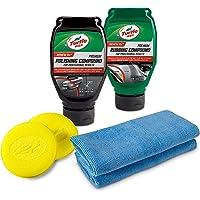 Turtle Wax Kit de reparación de arañazos de Calidad Superior, Juego de 6 Piezas Compuesto para pulir y rayar, 6-Piece Compound, Polishing & Scratch Kit