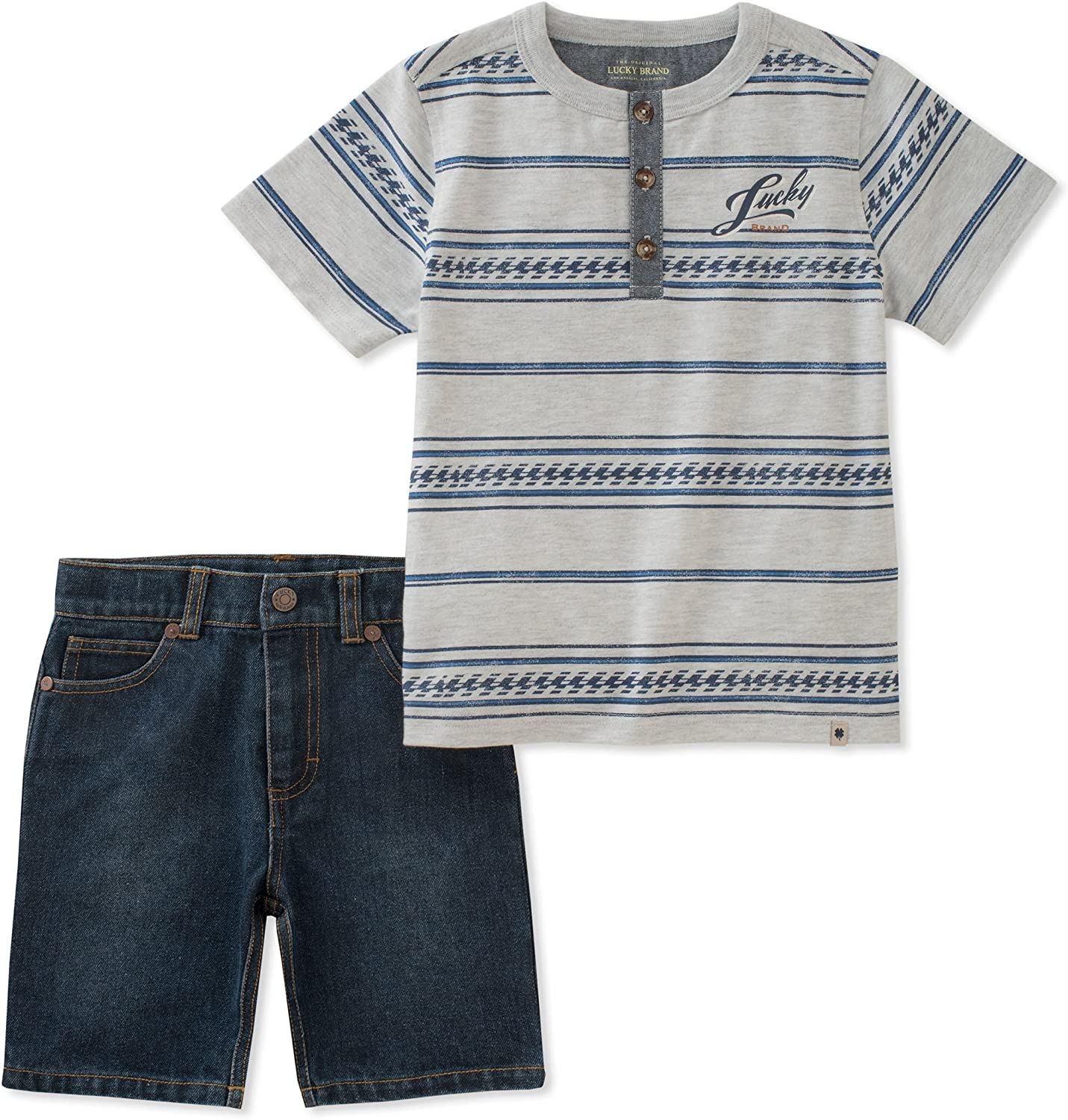 Lucky Brand Baby Boys Shorts Set