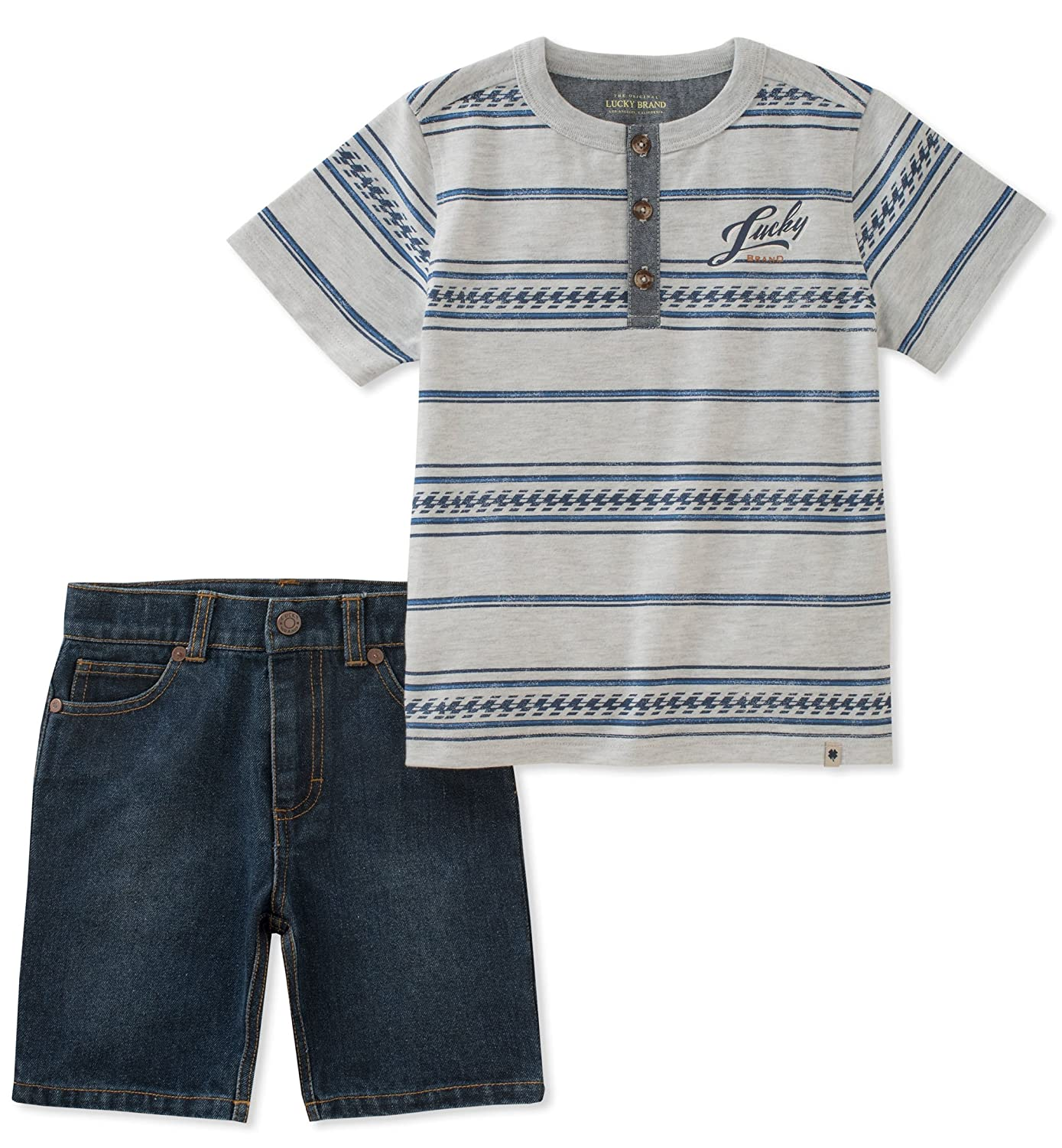 Lucky Brand Boys Shorts Set