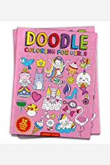Doodle Coloring For Girls (Doodle Coloring Books) Paperback