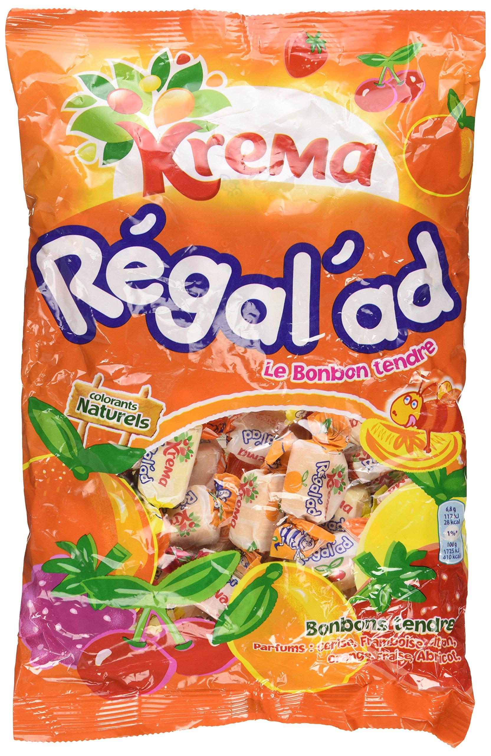 Krema Regal'ad 360g Chewy French Candy