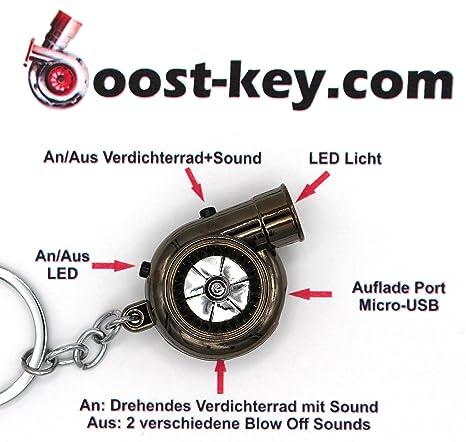 USB eléctrico (batería recargable de Turbo Black cromo ...