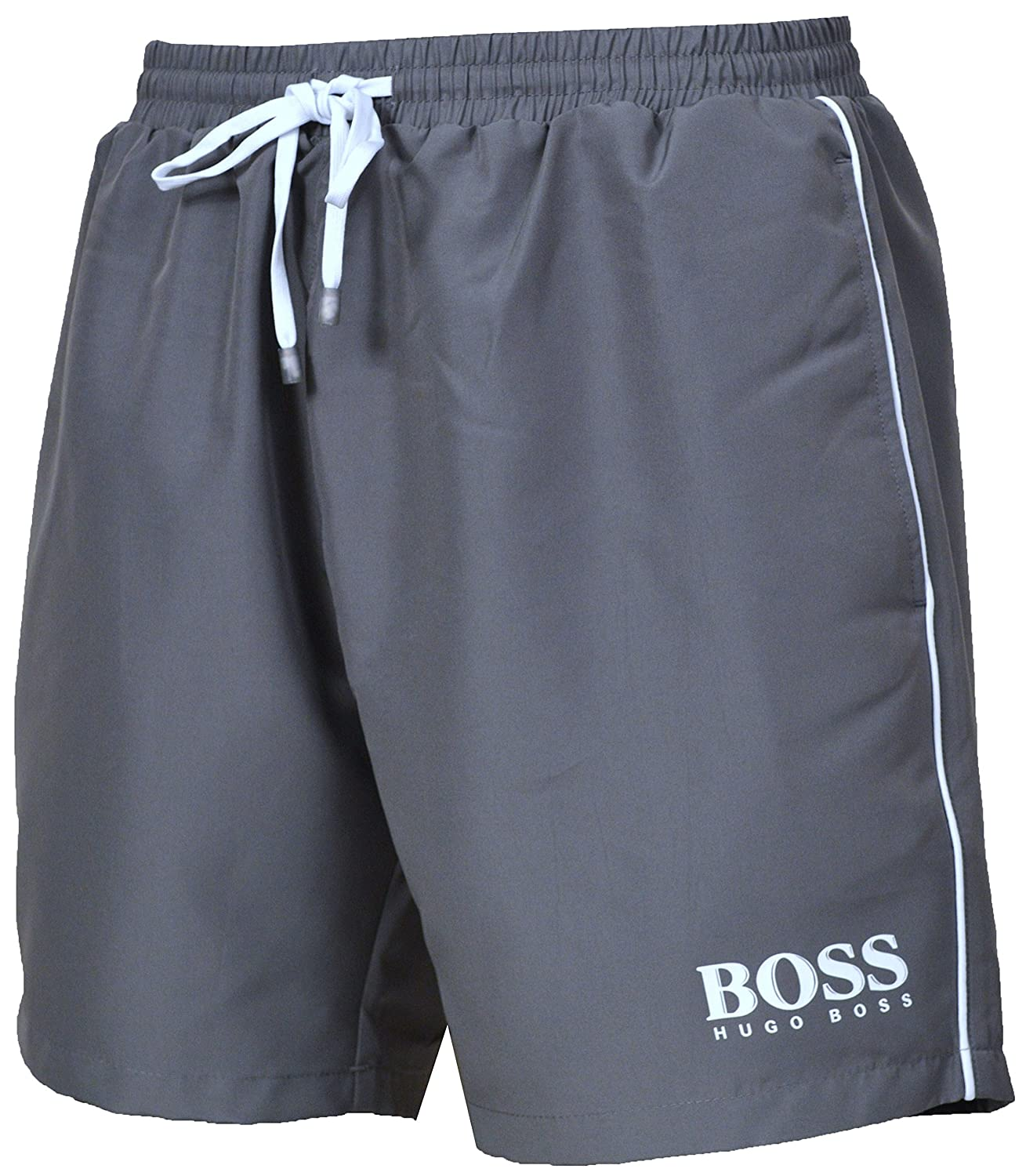 Hugo Boss Men`s Starfish Swim Shorts 50269488 Grey