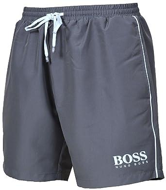 6d058bd8a7 Hugo Boss Men`s Starfish Swim Shorts 50269488 Grey (Small): Amazon.co.uk:  Clothing