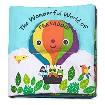 Melissa & Doug Soft Activity Book – The Wonderful World of Peekaboo, The Original (Developmental Toys, Cloth Lift-the-Flap Baby Book, Great Gift for Girls & Boys - Best for Babies & Toddlers): Melissa & Doug: Toys & Games