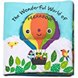 Melissa & Doug Soft Activity Baby Book - The Wonderful World of Peekaboo!
