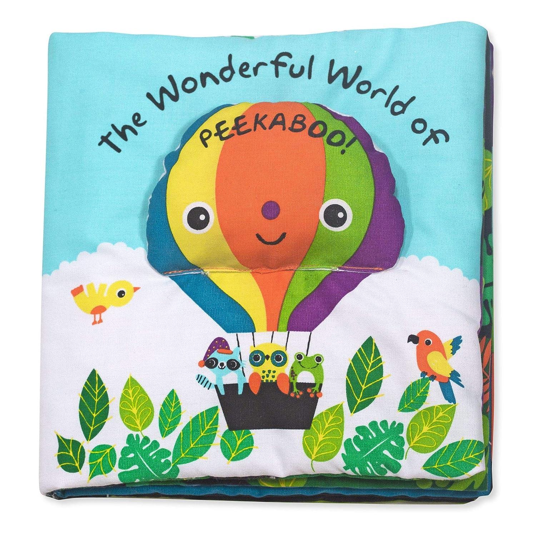 Melissa Doug Soft Activity Baby Book The Wonderful World of Peekaboo