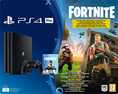 playstation 4 pro konsole 1tb fortnite royal bomber pack bundle inkl 1 dualshock 4 controller amazon de games - fortnite ports freigeben pc