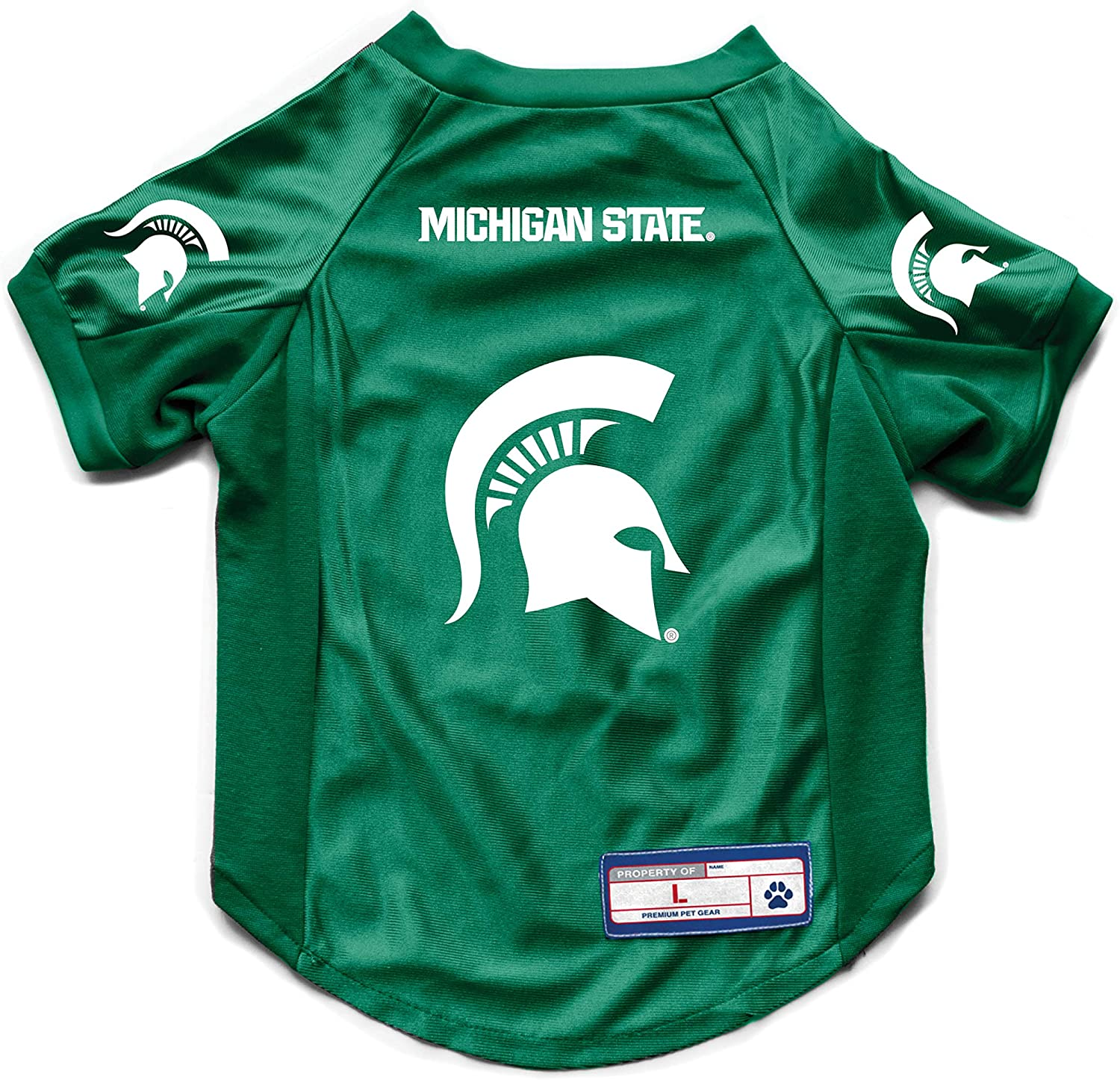 Medium Littlearth NCAA Michigan State Spartans Pet Dress