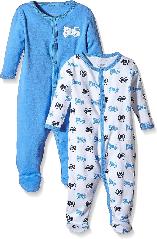 NAME IT NITNIGHTSUIT W/F NB B NOOS, Pijama Bebé-Niñas ...