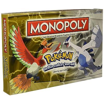 USAOPOLY Monopoly Game: Pokémon Johto Edition: Toys & Games
