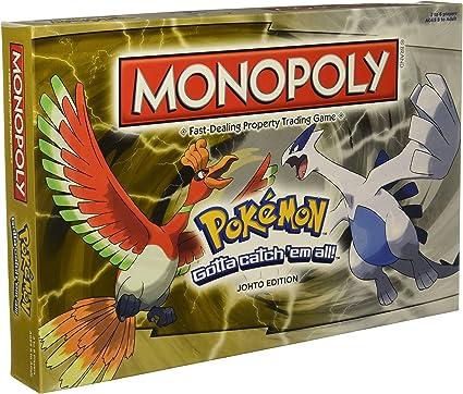 MONOPOLY Pokémon: Johto Edition: Amazon.es: Juguetes y juegos