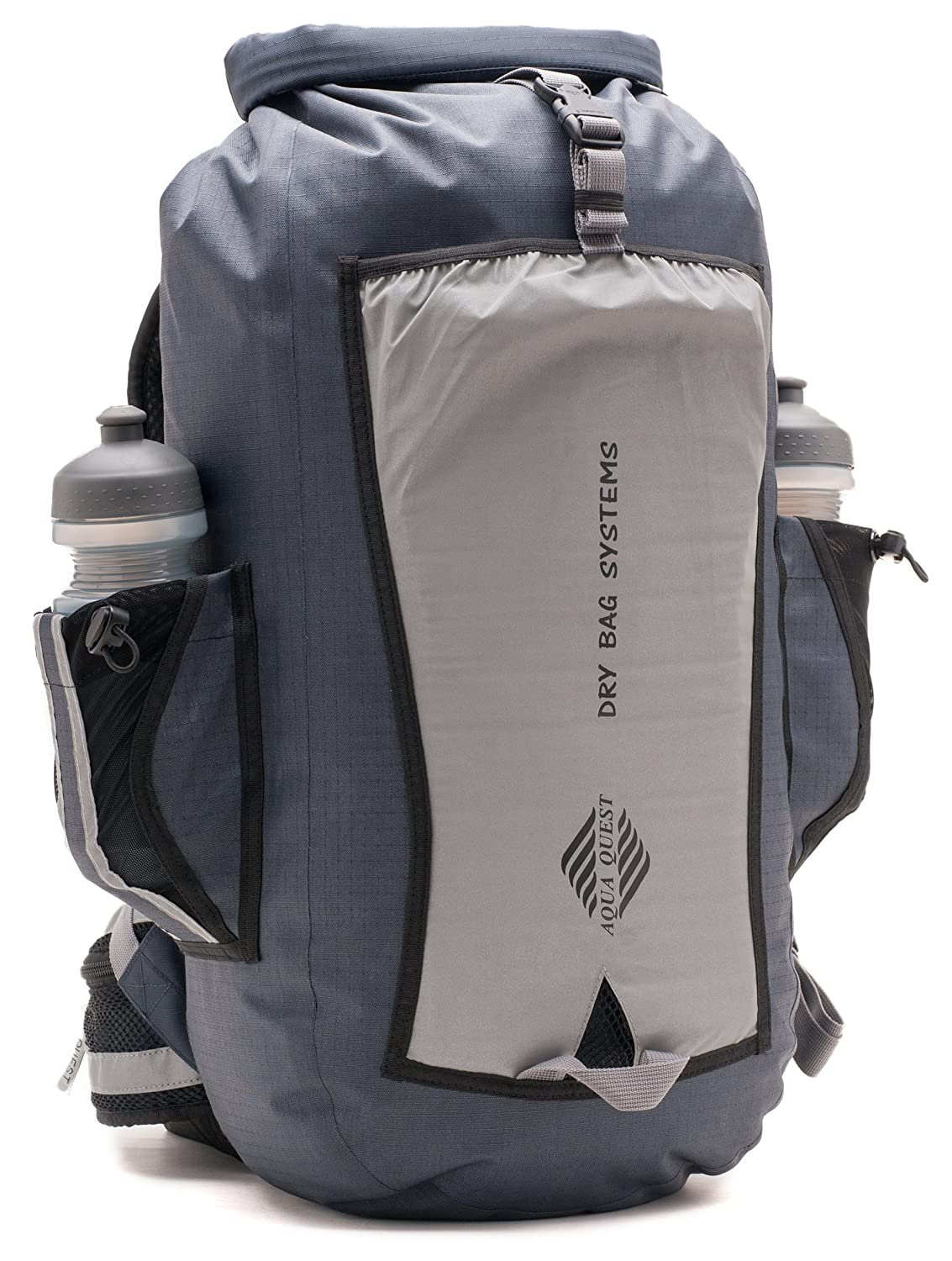 Amazon.com : Aqua Quest SPORT 25 PRO Gray Waterproof Backpack with ...
