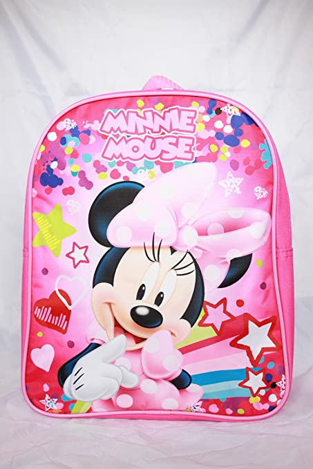 Image Unavailable. Image not available for. Color  Disney Minnie Mouse  12 quot  Toddler Girl Backpack School Bookbag 922f9ad799
