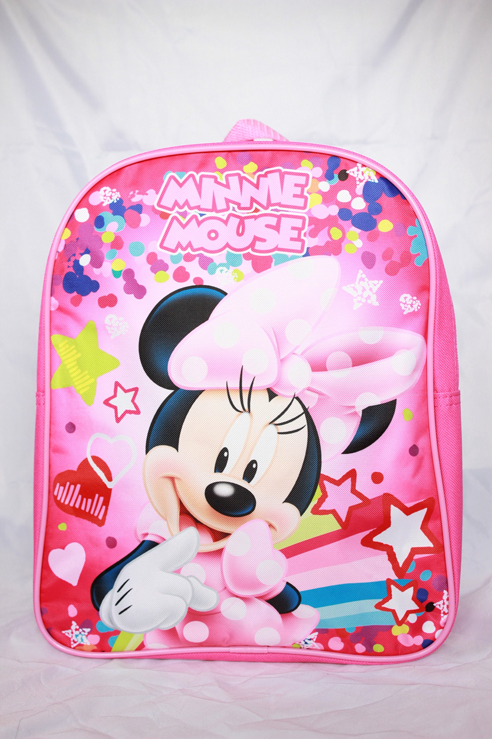 Disney Minnie Mouse 12'' Toddler Girl Backpack School Bookbag