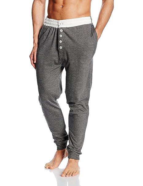 Arthur Jogging, Pantalones de Pijama para Hombre, (Gris), Medium