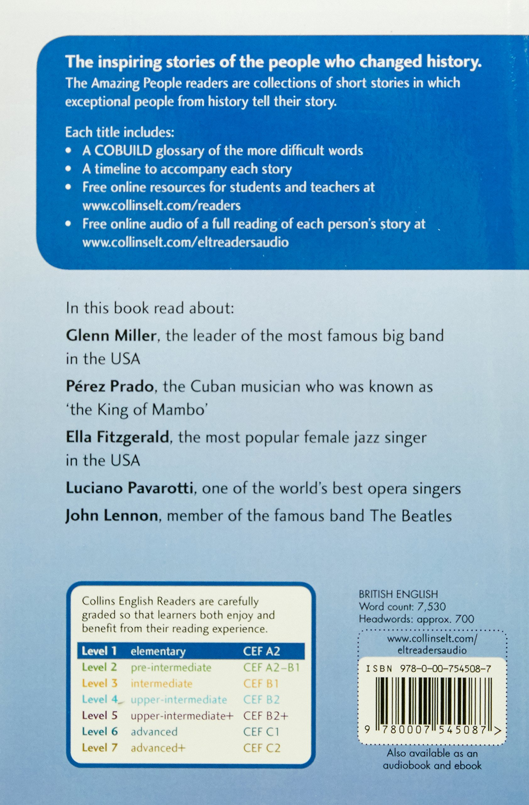 Collins Elt Readers — Amazing Performers (Level 1) (Collins English Readers) by HarperCollins UK