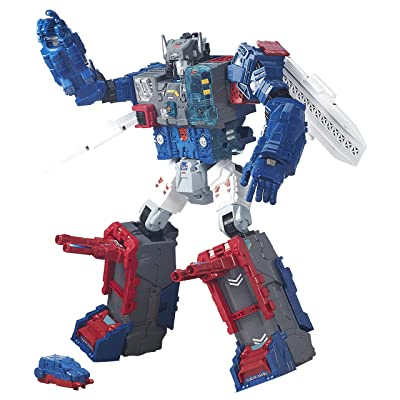 Transformers Generations Titans Return Titan Class Fortress Maximus: Toys & Games