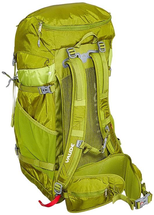 VAUDE Brenta - Mochila de acampada (40 L) verde holly green Talla:64 cm: Amazon.es: Deportes y aire libre
