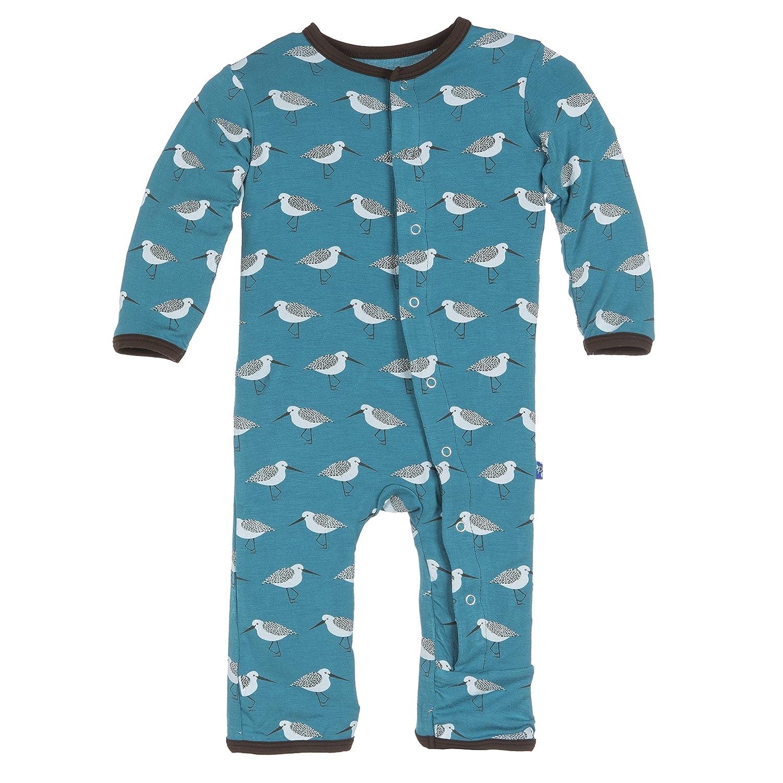 Amazon KicKee Pants Baby Boys Print Coverall Bay Sandpiper