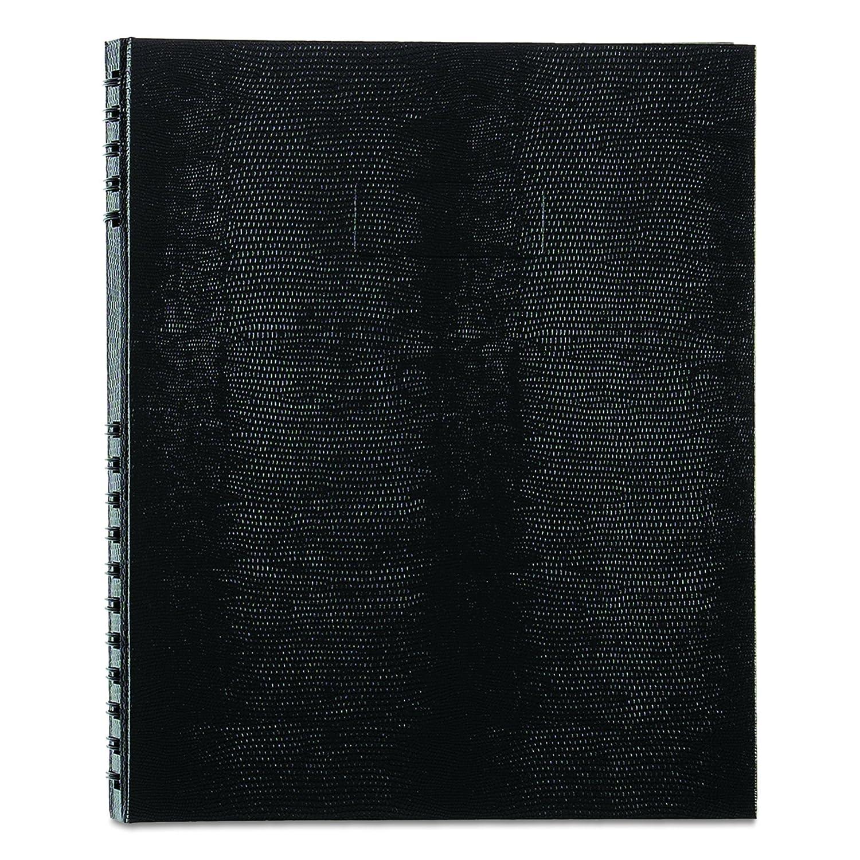 Blueline NotePro 200feuilles Noir bloc-notes - Blocs-notes (Adultes, 200 feuilles, Noir, Gris, Papier ligné, Double) Papier ligné A10200.BLK