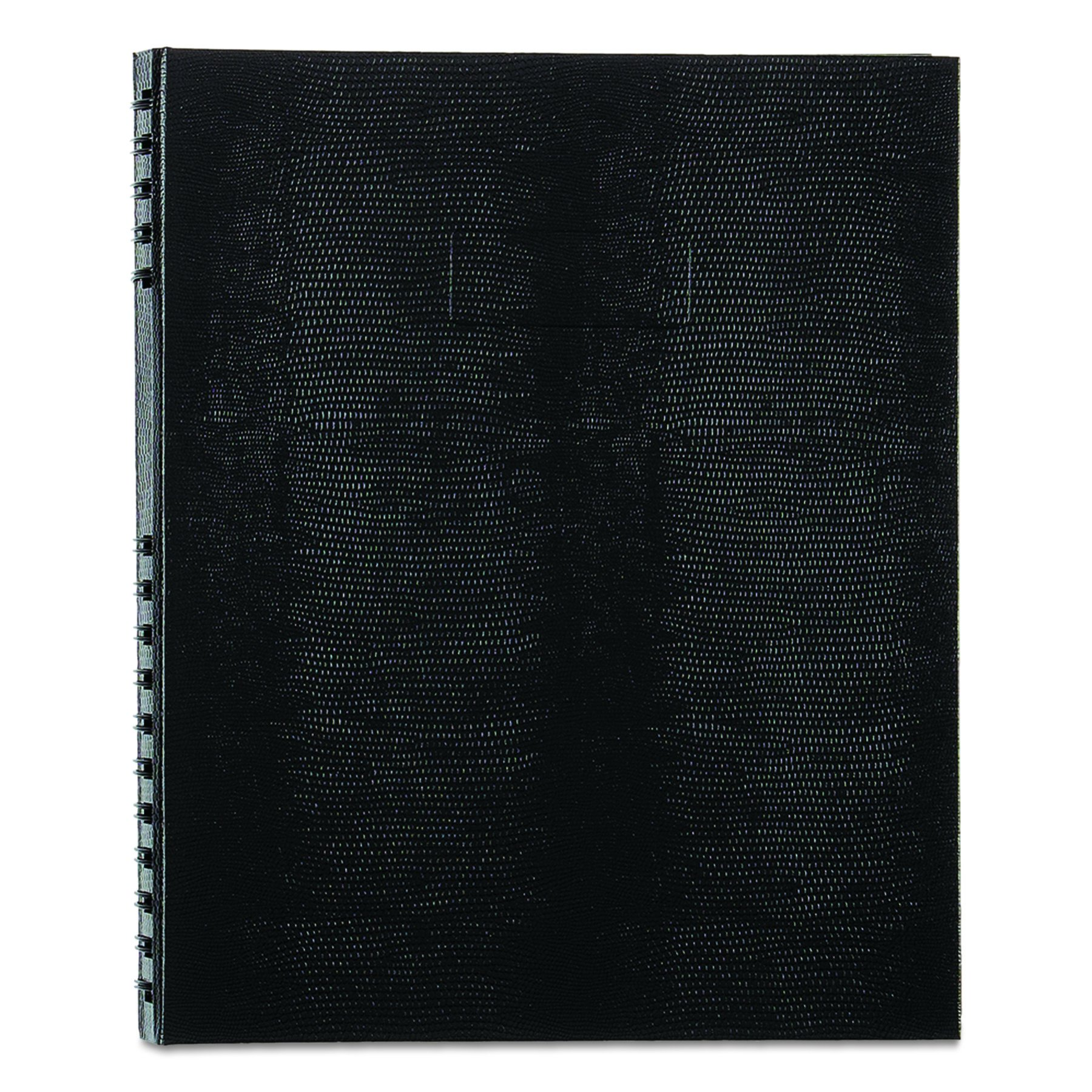 BLUELINE NotePro Notebook, Black, 11 x 8.5'' 200 Pages (A10200.BLK)