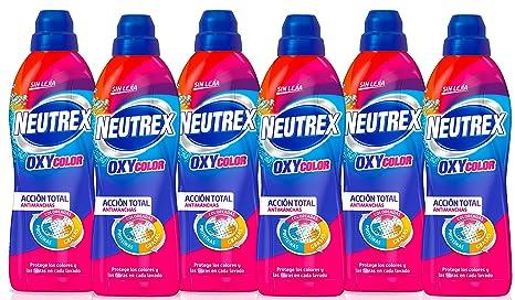 Neutrex Oxy Color, Quitamanchas - 800 ml [Pack de 6]