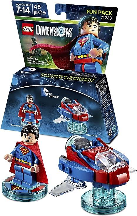 DC Superman Fun Pack - LEGO Dimensions by Warner Home Video - Games: Amazon.es: Videojuegos