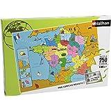 Nathan - 86933 - Puzzle Enfant Classique - Carte de France - 250 Pièces